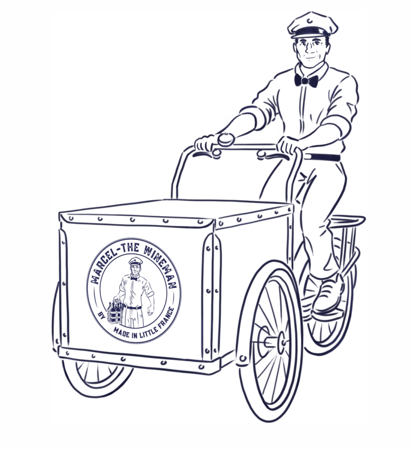 Marcel the wineman - French wine refills delivered to your door in London